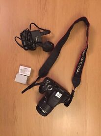 Canon 600d with 2x Batteries and 18-55mm lens