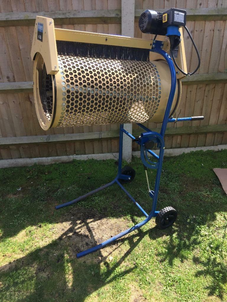 Scheppach RS350 Rotary Soil Compost Sieve Sifter ...