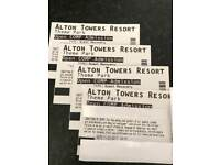 Alton Tower's Tickets