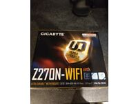 Gigabyte H270N ac WIFI Kaby Lake Mini ITX Motherboard