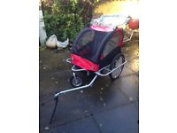 Double Buggy Child Bike Trailer - handy for transporting anything, including children!