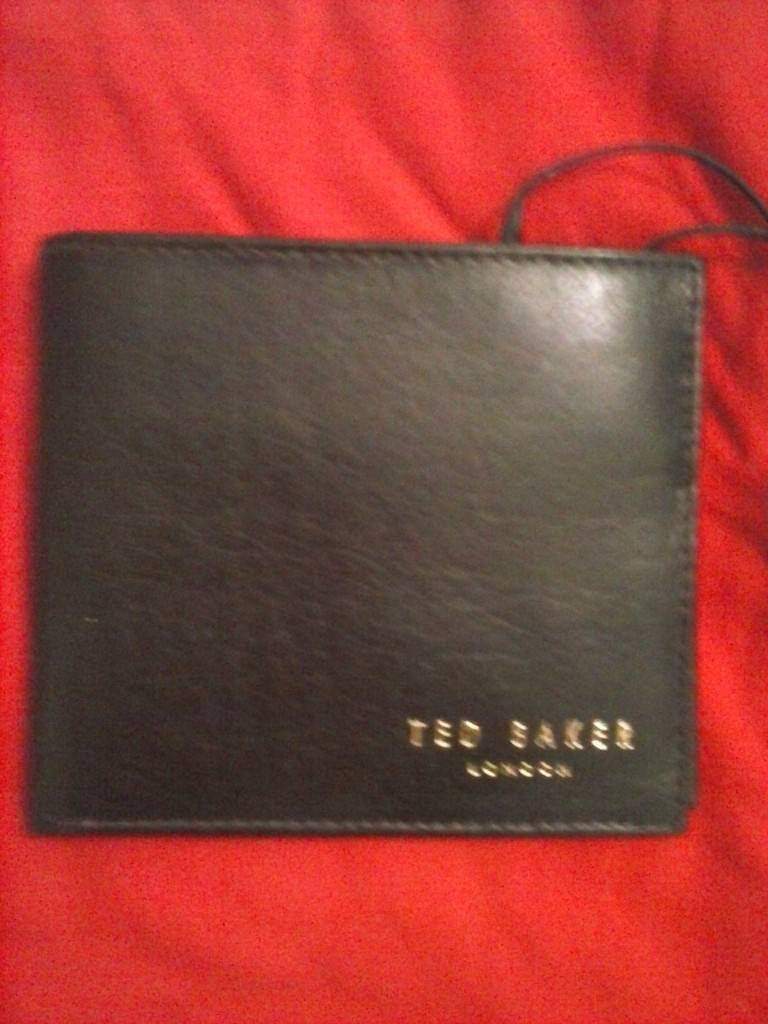 d498bc6d9a50 ted.baker brown soft leather wallet with price tags. £15 ono