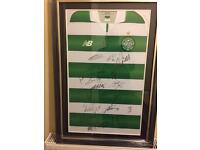 Signed Celtic Shirt