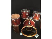 """Special edition Premier XPK shell pack with 20"""" bass drum and 3 toms"""