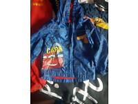 Lighting McQueen Rain Coat With Bag