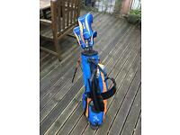 2 full ping set of golf clubs and bag