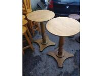 Poseur tables x2