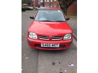 Nissan Micra For Sale 1998 £200.00 only