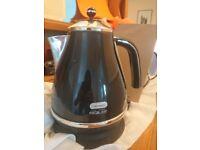Delonghi micalite black kettle 1.7l