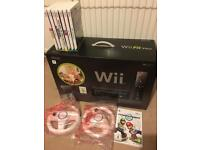 Nintendo Wii Fit w/Balance Board and 8 Games