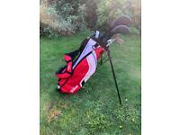 Junior Golf Clubs & Bag & Box - Wilson Deep Red