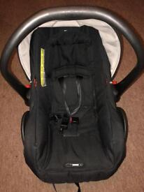 Oyster 2 car seat with seat adapters