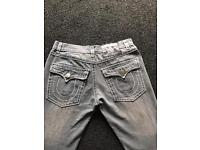 36 waist Mens true religion jeans
