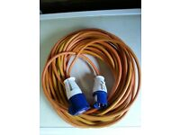 25 Mtr.Electric connection cable for Motorhome or caravan