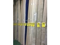 Room Size Carpet Remnants for sale. Lots of different sizes and colours. From £10 to £100.