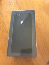 Brand new - iPhone 8 space grey 64GB unlocked