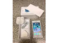 Apple iPhone 6s 128GB Silver (Unlocked) Boxed with All Accessories (new condition) NO OFFERS!!