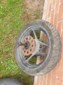 Suzuki GSXR750 Slabside Flatside Carburettors Wheels Forks Job lot