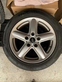 4 x Mini Countryman Paceman Silver Alloy Wheels