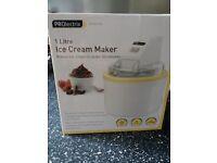 Ice cream maker-unused