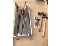 Hand tools £7 the lot