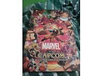 Marvel Vs Capcom Official complete works book