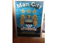 3D Manchester City poster