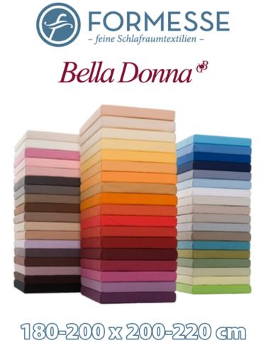 Spannbettlaken Bella Donna Jersey - mit Aloe Vera 180-200 x 200-220 viele Farben
