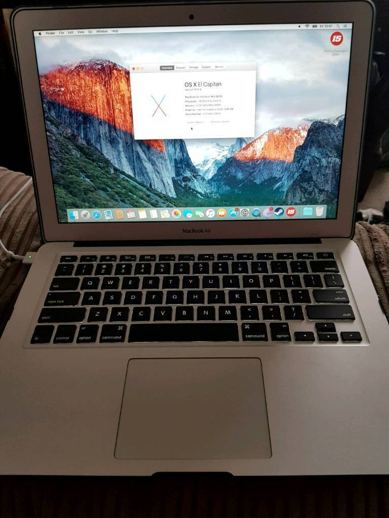 "Apple MacBook air 13in Chester, CheshireGumtree - Apple MacBook air 13"" for sale in great condition needs to go today"