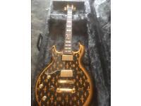 Left handed Schecter Zacky Vengeance signature guitar & hard case