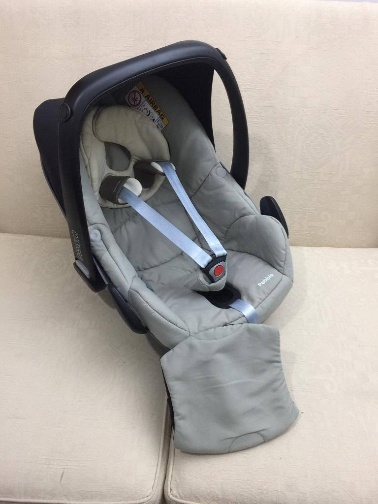 Maxi cosi pebble car seat with head and back support wedge in ...