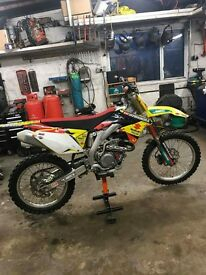 2014 rmz 450 fuel injected