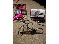 Hair dryer, Straightener, Curling Iron