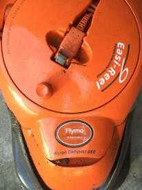 FLYMO easy reel hover electric lawn mower