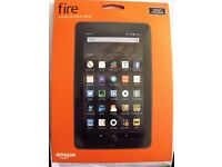 Amazon Kindle Fire 7 Inch 8GB Wi-Fi Tablet 5th Generation Black **Brand New Boxed**