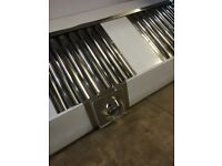 CANOPY, 4M, STAINLESS STEEL, NEW, HEAVY DUTY FOR CATERING, COMPLETE WITH FILTERS £1200