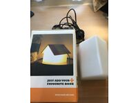 Stylish house shape lamp/ bookrest - perfect for working from home
