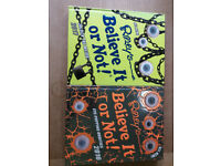 2 Ripley's Believe It or Not! Books £12 Read only once!!