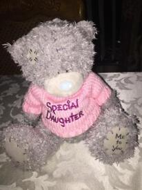 "Medium Sized ""ME TO YOU"" Bear - ""Special Daughter"""
