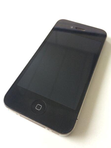 iphone 4s 16gb in schwarz in baden w rttemberg. Black Bedroom Furniture Sets. Home Design Ideas