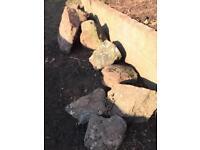 FREE rocks for garden / rockery