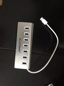 USB splitter 7 ports