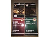GCSE English and Mathe Books