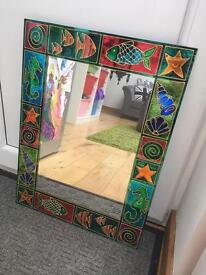 Unique wall mirror