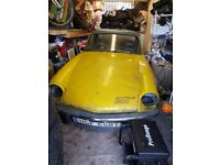 Unfinished triumph spitfire project