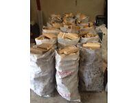 BIG BAGS OF TIMBERWOOD FOR SALE..£2.50 PER BAG..