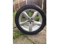 19 inch Audi alloy wheel