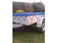 Sturdy Galvanised Car Box Trailer