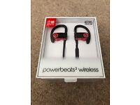 PowerBeats3 Wireless by Dre in-ear headphones (Red)