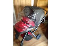Mamas and papas mylo pram excellent condition with rain hood. And baby muff